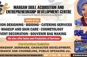 Margan skill acquisition and entrepreneurship development centre