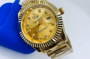 Rolex Oyster chain watch